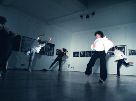 Danza contemporanea, Coreografia d'Arte 2012, Studio coreografico di Federicapaola Capecchi su L'occhio della pittura di Emilio Tadini, Spazio Tadini